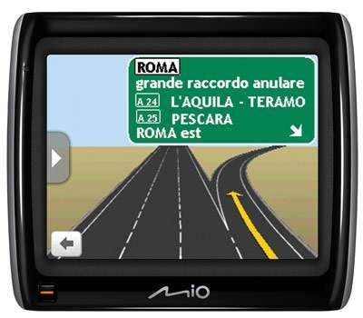 Navigatori GPS Mio Moov con software Spirit