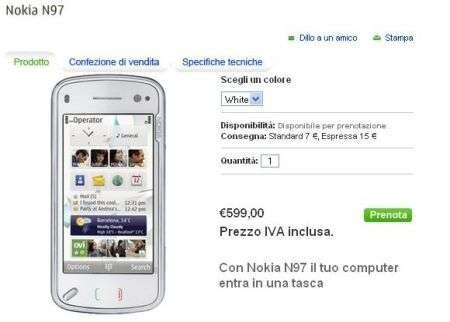 Nokia N97 anche con H3G (Tre)?