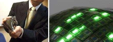 Schermo OLED gommoso