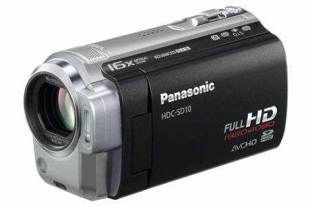 Videocamere Panasonic HDC-SD10 e HDC-TM10