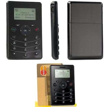 Cellulare carta di credito Simvalley PICO RX-80