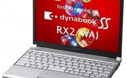 Toshiba Dynabook SS RX2/WAJ il primo con 512GB SSD