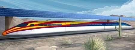 Treno alta velocità a energia solare in Arizona