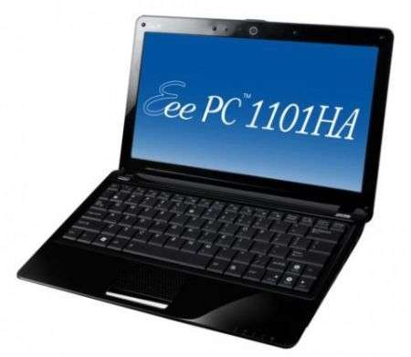 Netbook Asus Eee PC 1101HA prezzo per l'Italia