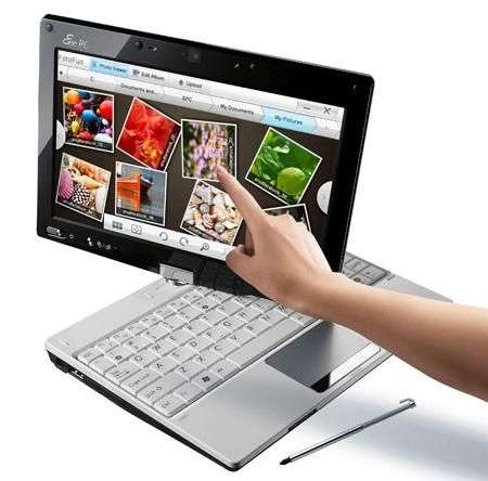 Asus Eee Pc T91: video dell'interfaccia