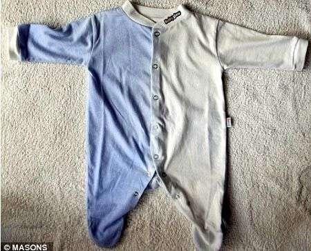 Il pigiamino che dice se il bebè ha la febbre