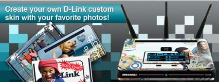 D-Link Skins per colorare l'home networking