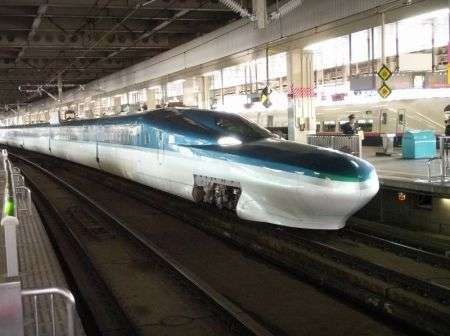 Treno E5 Series Shinkansen: comodo e veloce