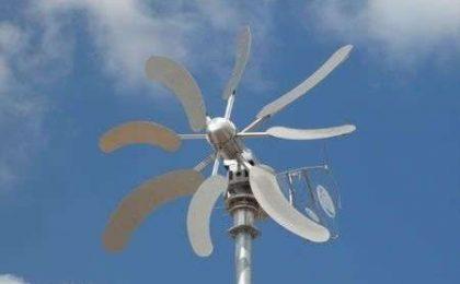 Impianti eolici casalinghi retrò