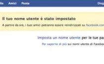 Facebook URL personalizzata, ecco come fare