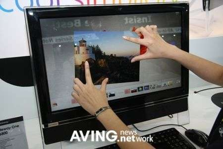 Gateway One ZX6800: HD e multitouch