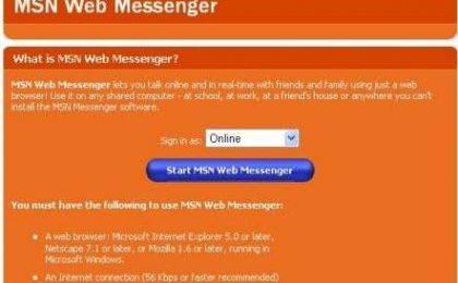 Chat e Instant Messaging direttamente online
