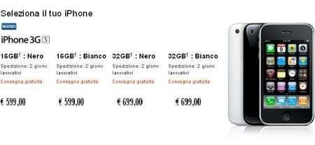 iPhone 3GS: su Apple Store si risparmia sul prezzo