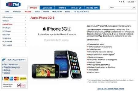 iPhone 3GS con Tim e Vodafone, trova le differenze!