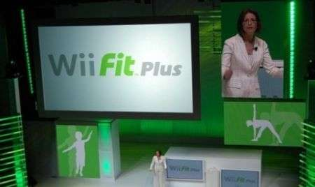 Nintendo Wii Fit Plus all'E3