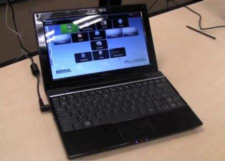 pegatron netbook freescale computex 2009