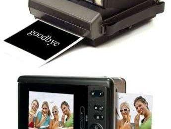 Polaroid vecchia contro nuova chi è più veloce?