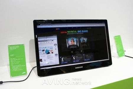 Monitor: Samsung LD220 e LG W1930