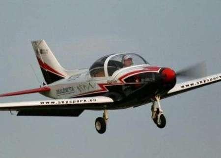 SkySpark: aereo 100% ecologico e italiano