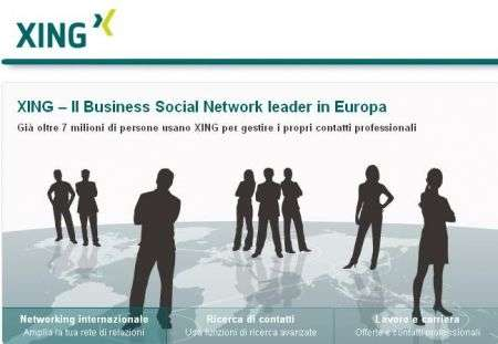 Xing: il miglior business social network