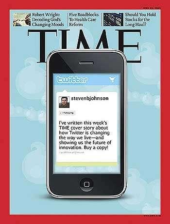 Twitter in copertina sul Time