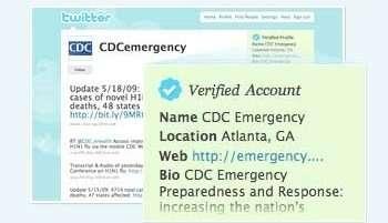 Twitter certifica utenti famosi e associazioni