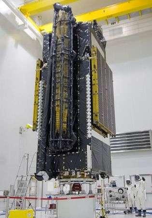 Ariane 5 lancia il satellite commerciale più grande