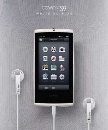Cowon S9 White Edition PMP
