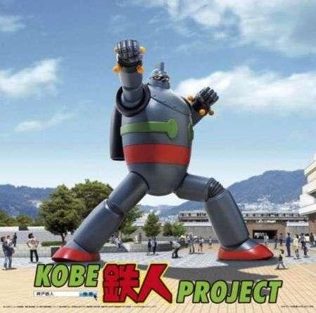 Gigantor reale: una statua di 18 metri del robot