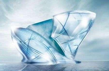 Hotel Blue Crystal: un iceberg gigante a Dubai