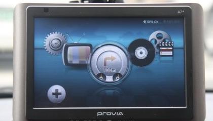 Hyundai PROVIA A7+: belva di GPS