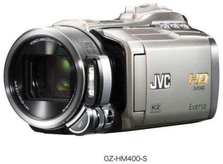 Videocamera JVC GZ-HM400: ibrida HD