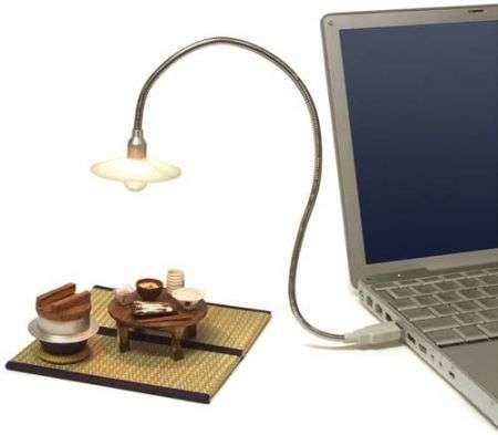 Lampadina USB vintage