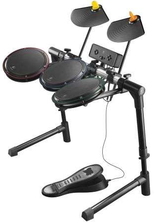 Logitech Wireless Drum Controller Guitar Hero per PS3