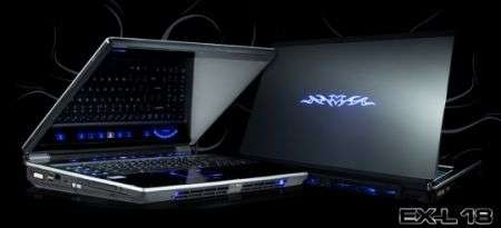 Notebook Maingear eX-L per il gioco