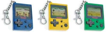 Nintendo Mini Classics, portachiavi giocosi retrò