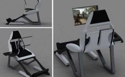 Pc Chair: la poltrona PC!