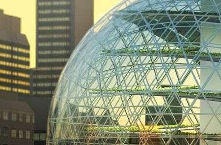 Plantagon: serra sferica cittadina