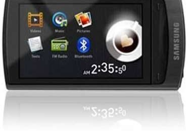 Samsung YP-R1 PMP tattile