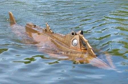 Sottomarino Nautilus Steampunk