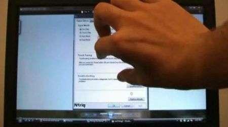 N-Trig e Fujitsu: il super multitouch
