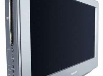 HDTV Toshiba 19LV612U in acciaio per la cucina!
