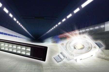 LED super-efficienti per il tunnel cinese