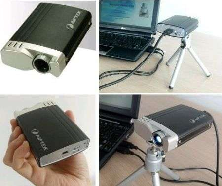 Aiptek T20 Pocket Cinema pico-projector