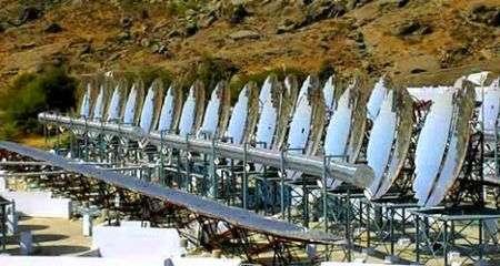 La più grande cucina solare a vapore in India