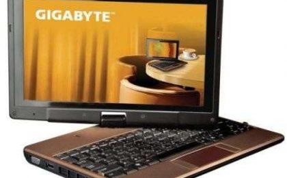 Gigabyte T1028X tablet touch