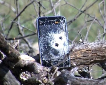 iPhone 3GS: impallinato e bruciato