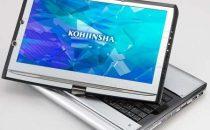 Netbook Kohjinsha EX Series Touchscreen con masterizzatore DVD