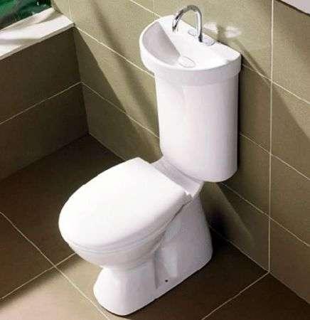 Lavandino-toilette per abbattere gli sprechi