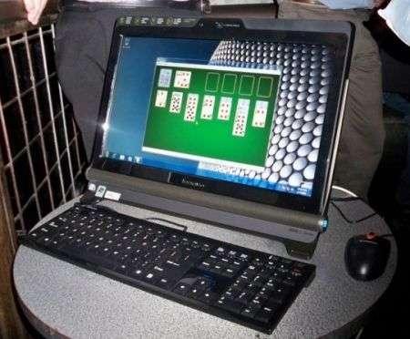 Lenovo Ideacentre C100 diventerà touch con Seven